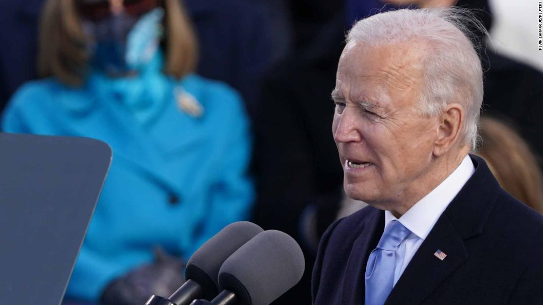 Biden addresses nation's information crisis: We must 'defeat the lies'